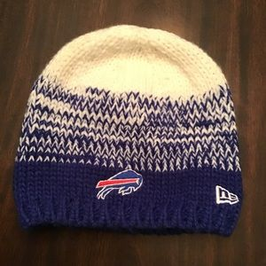Women's Buffalo Bills knit winter hat beanie
